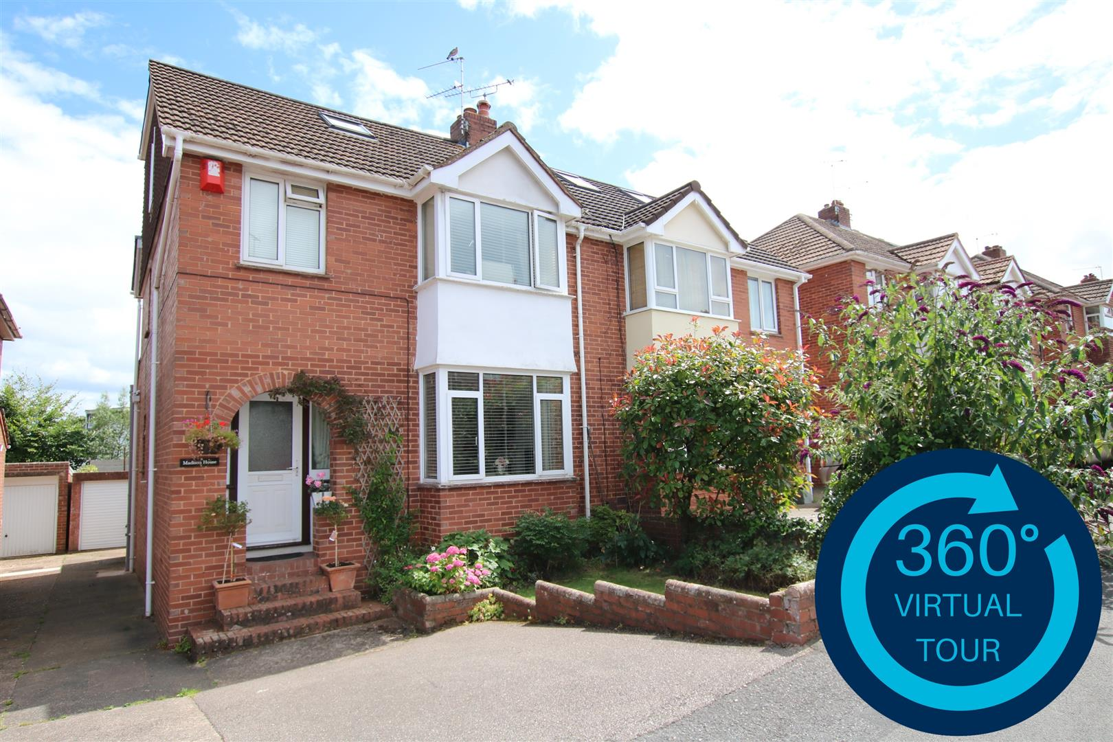 4 Bedrooms Semi Detached House for sale in Madison House, Heavitree, Exeter